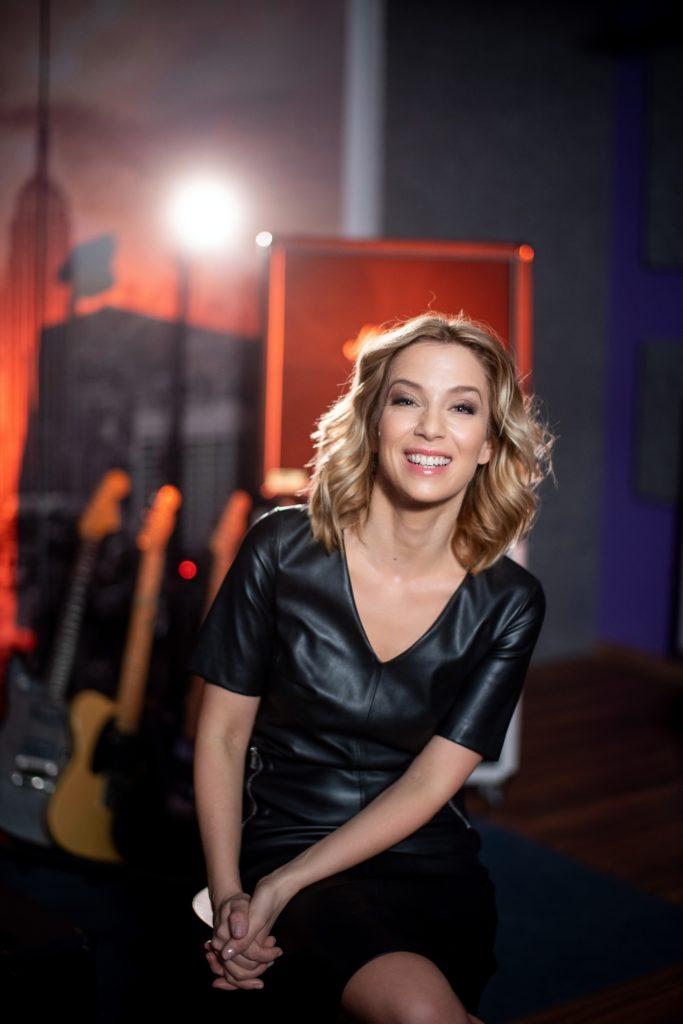 Kovács Patrícia a Nagy szám műsorvezetője