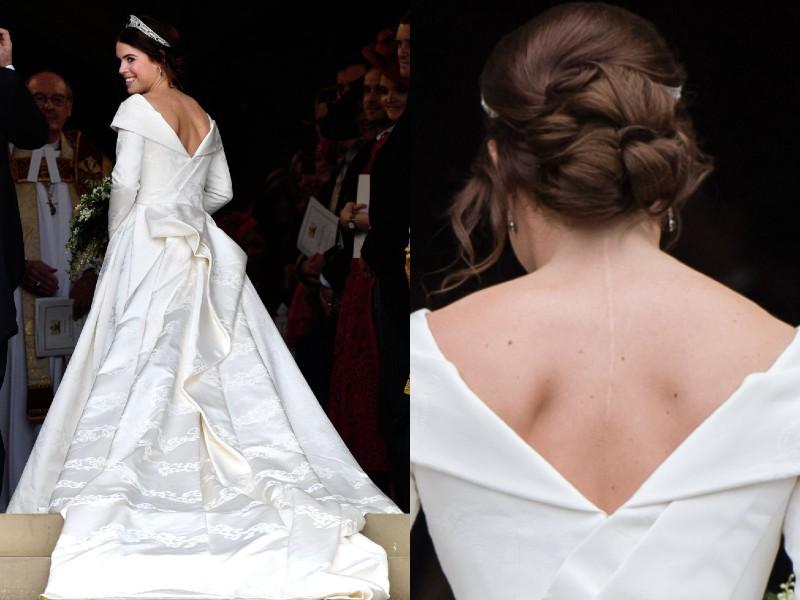 Eugénia hercegnő esküvői ruhája