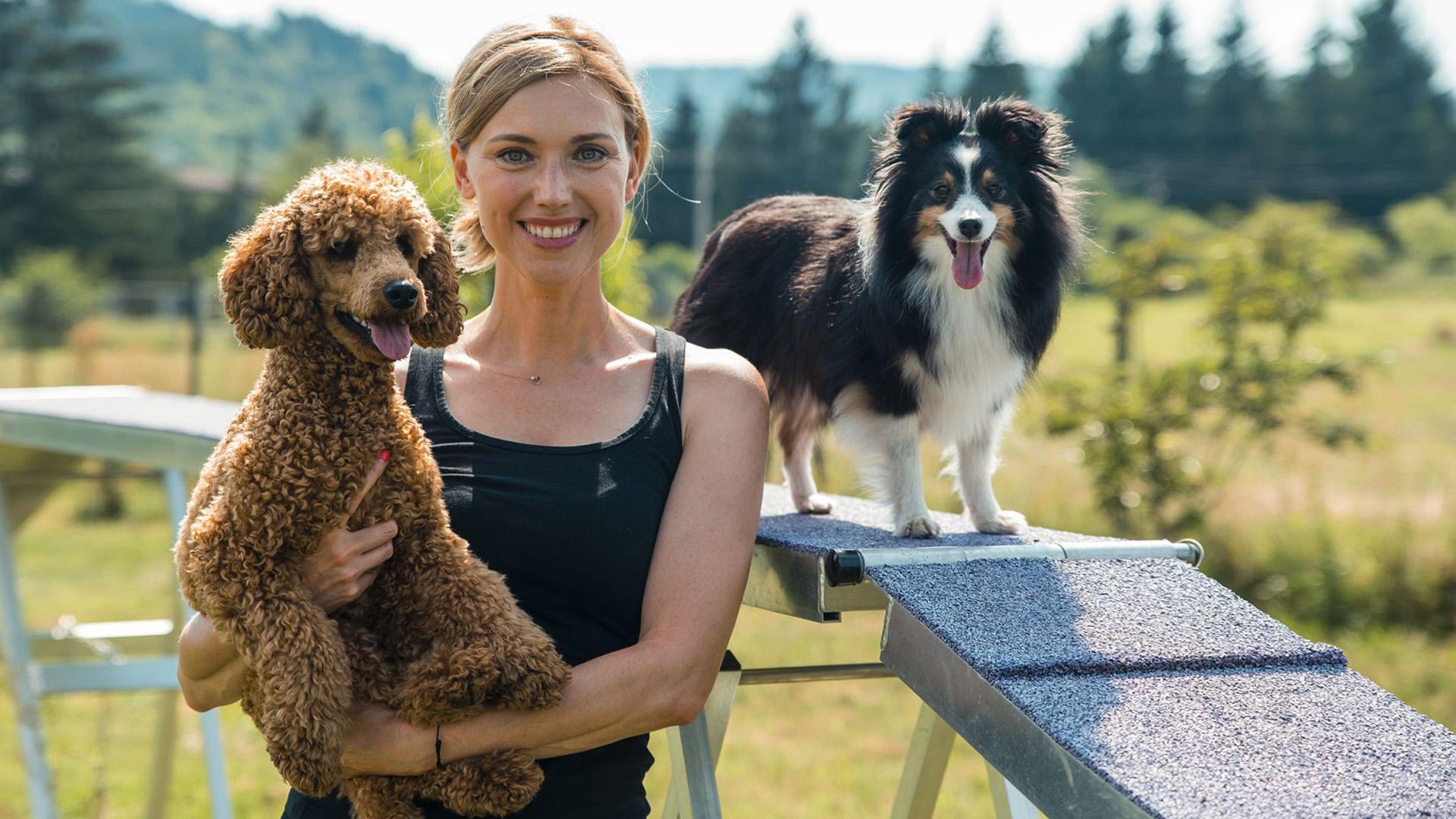 Liebhaber Judit sikeres modellből lett műsorvezető