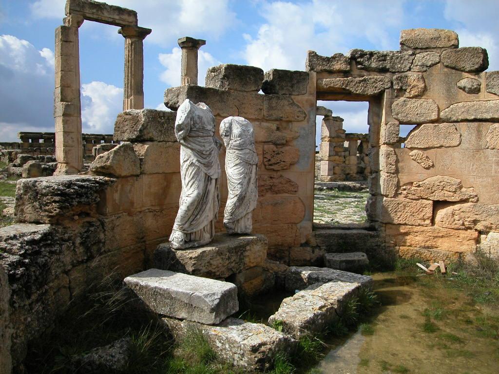 Küréné romjai a mai Líbiában (fotó: Wikipedia)