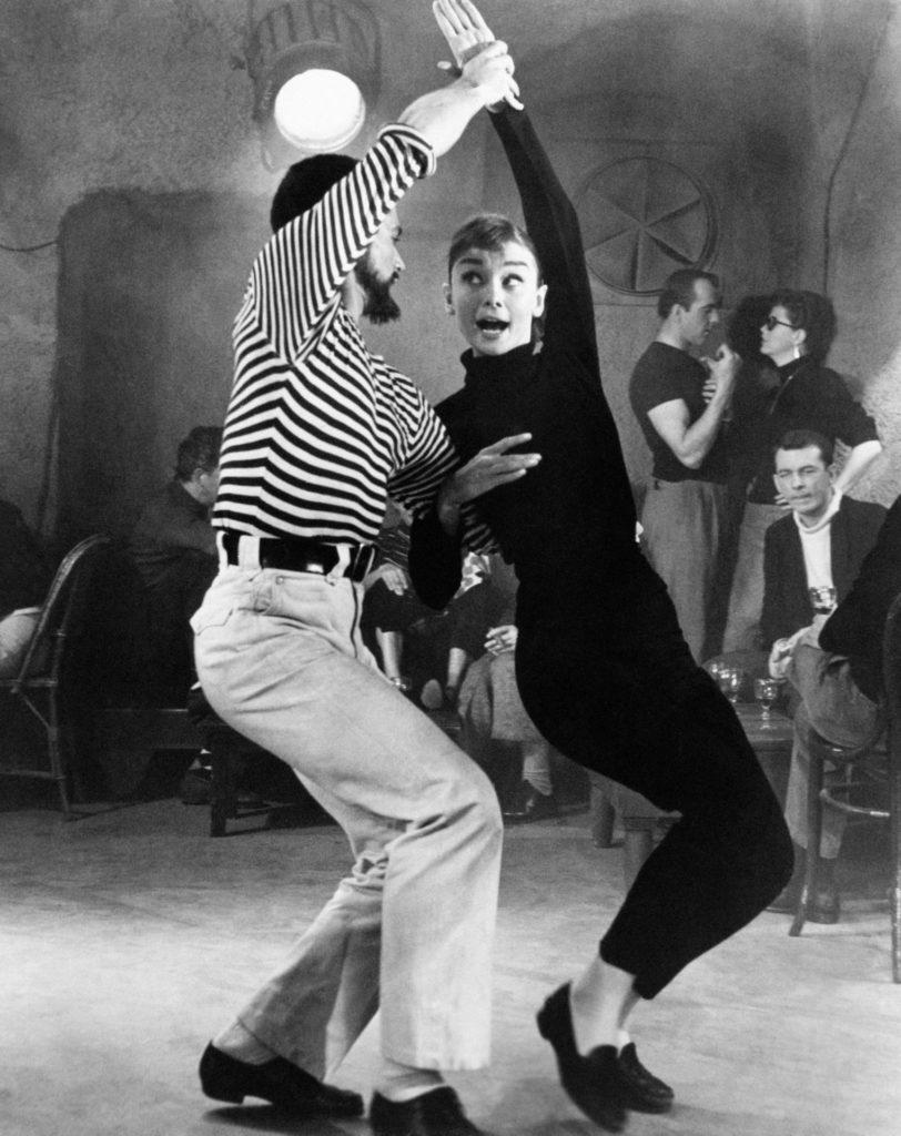 Audrey Hepburn az 1956-os Mókás arcban