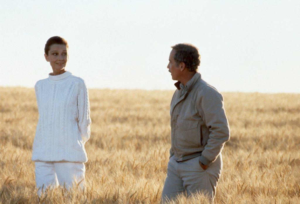 Audrey Hepburn és Richard Dreyfuss az Örökké című filmben