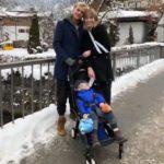 Avicii és Tereza a fiukkal, Lukával