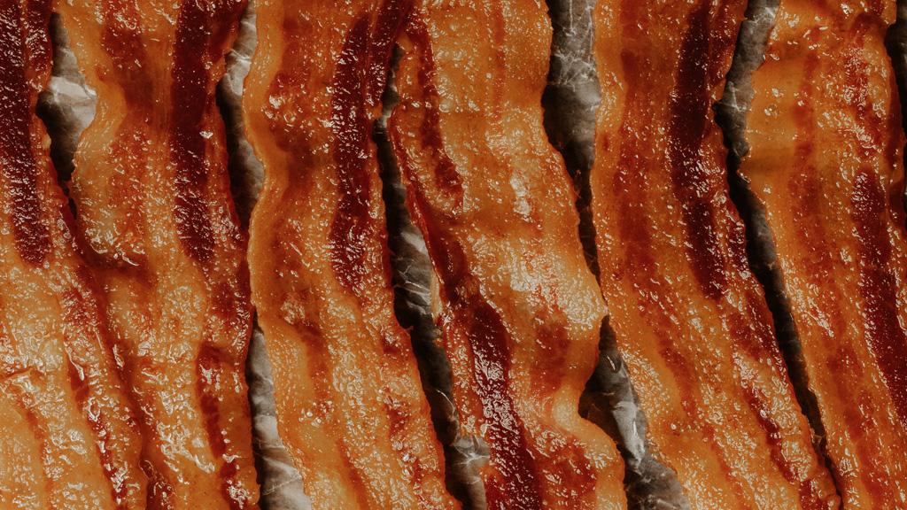 sült bacon