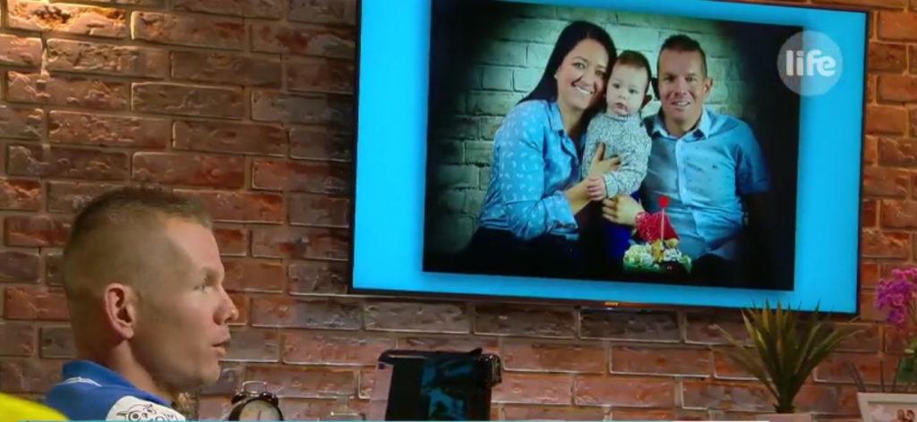 Boronkay Péter családja hamarosan egy kisfiúval bővül