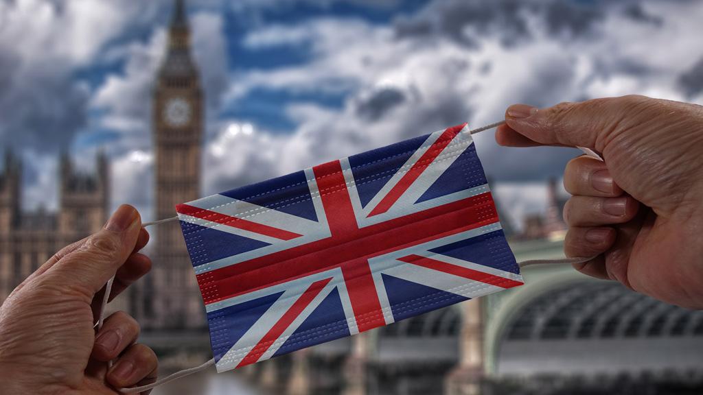 brit zászlós szájmaszk