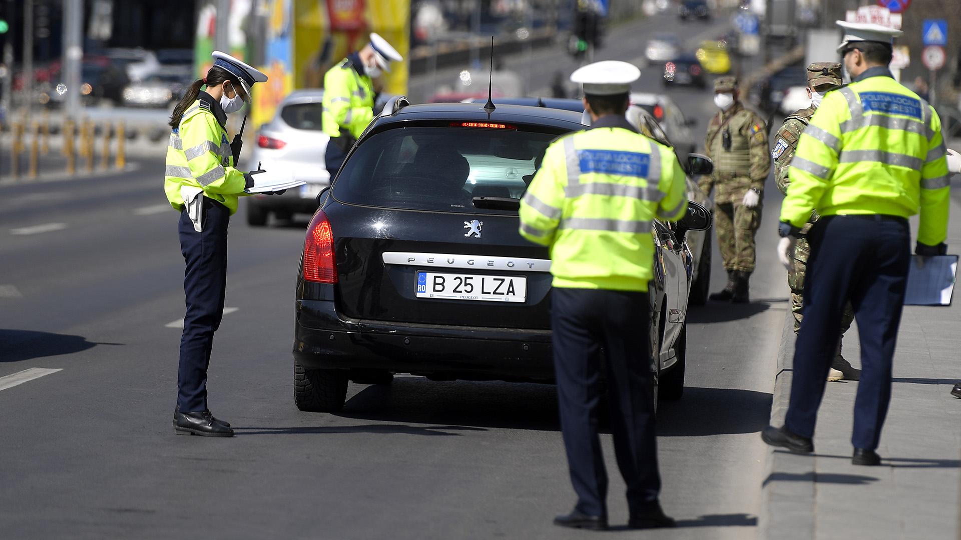 Bukaresti rendőrök