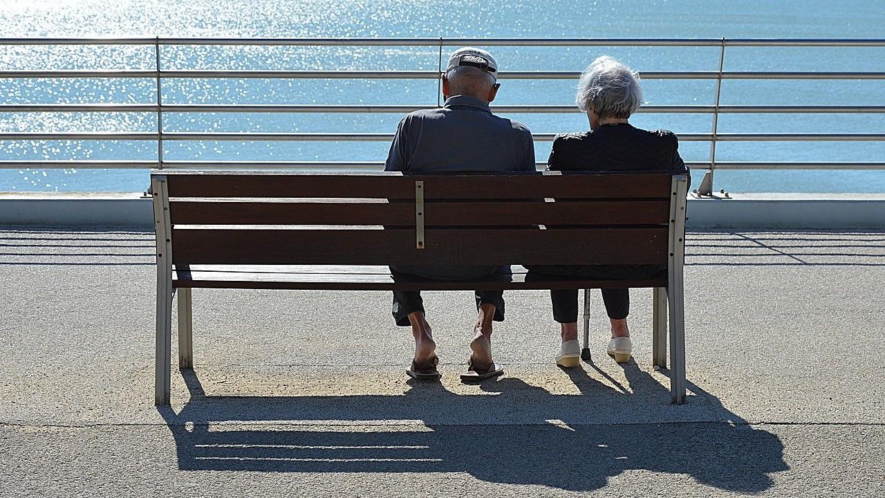 idős pár