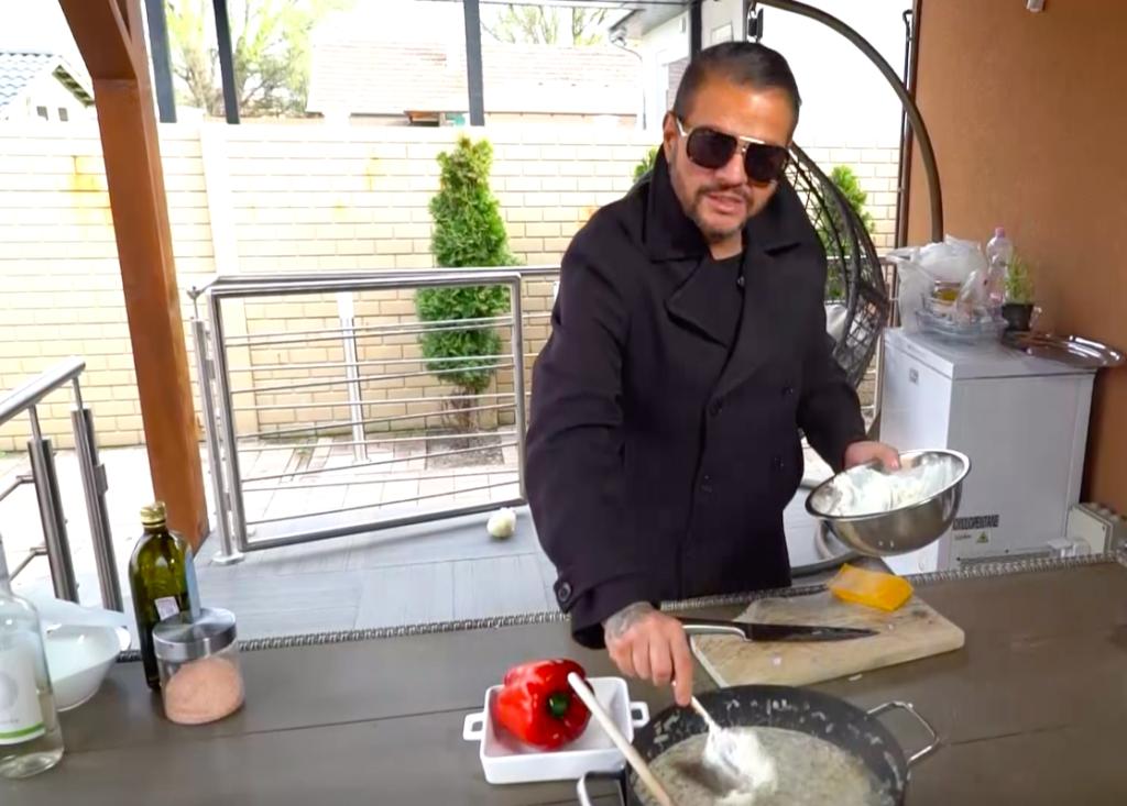 Emilio szívesen főz és megmutatja, miket esznek