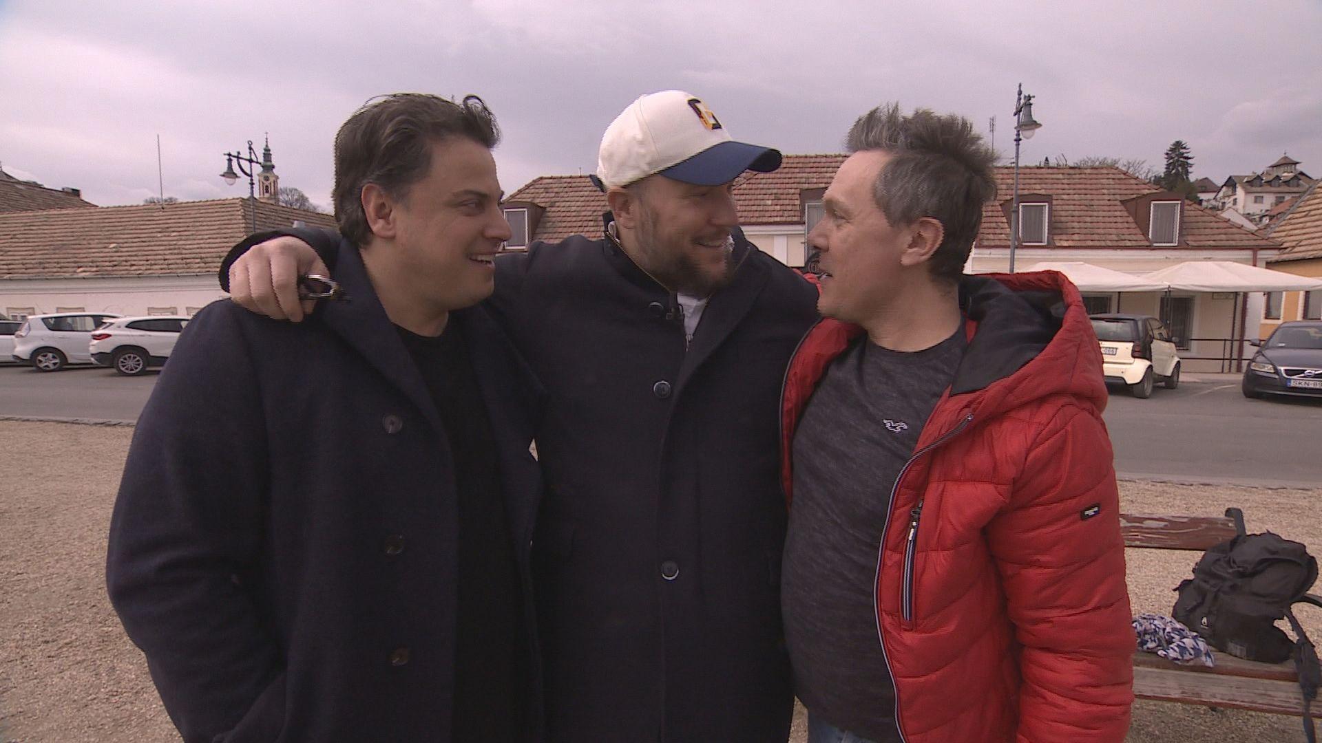 Feke Pál legrégebbi barátai Nagy Sándor és Serbán Attila