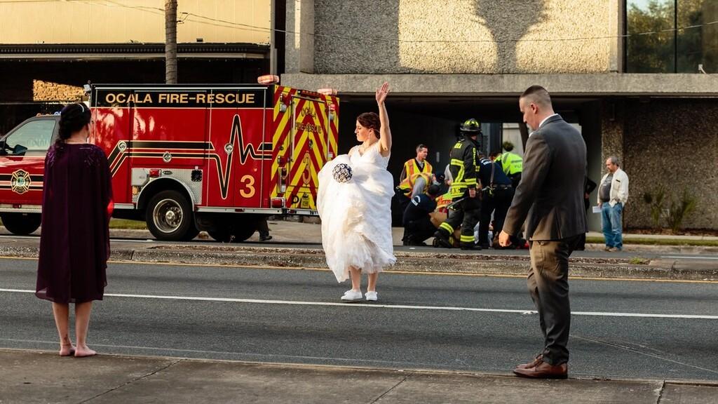 Taylor azonnal szolgálatba helyezte magát (Fotó: Marion Megyei Sheriff Hivatala /FB)