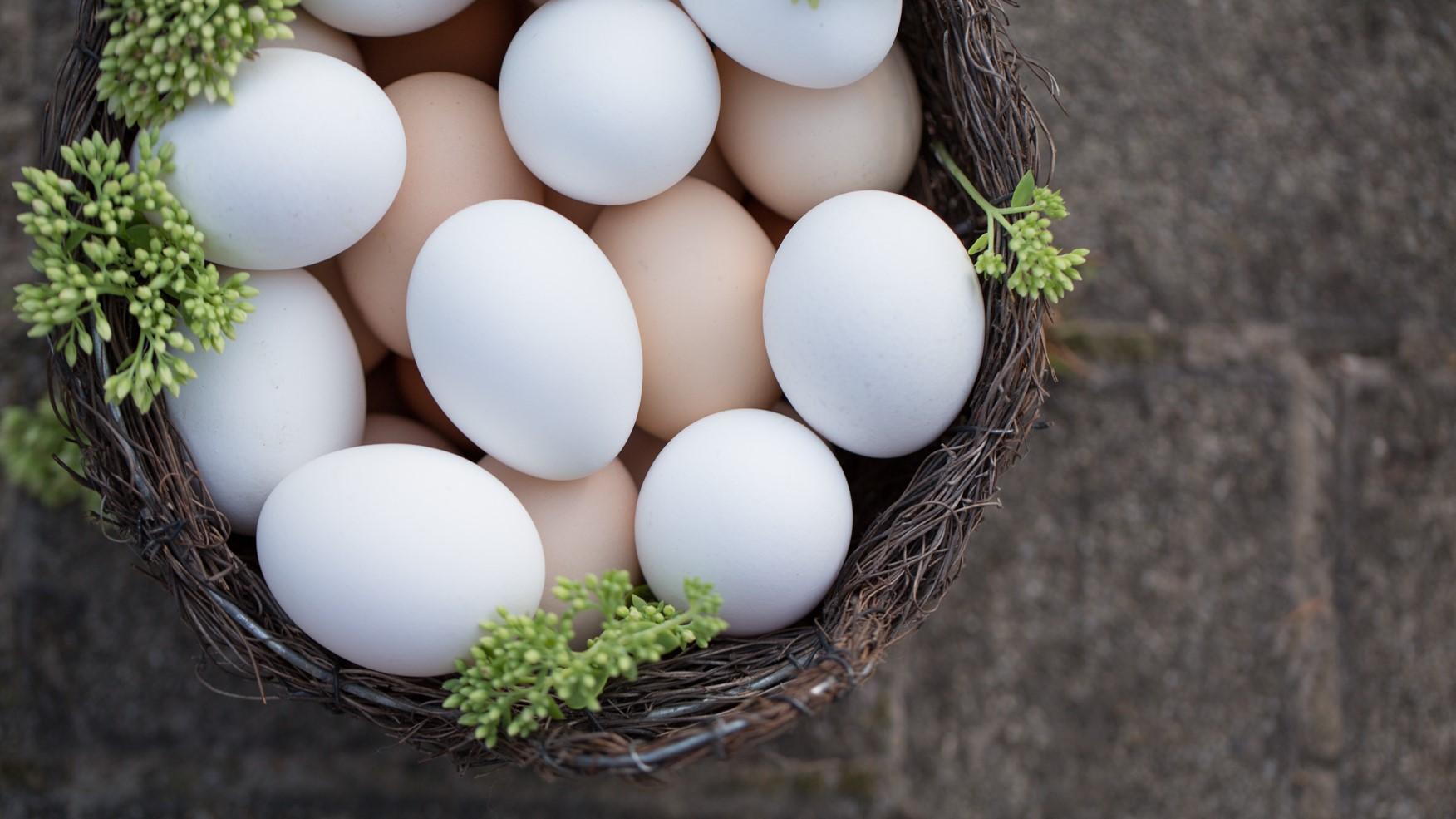 A tojás két színe