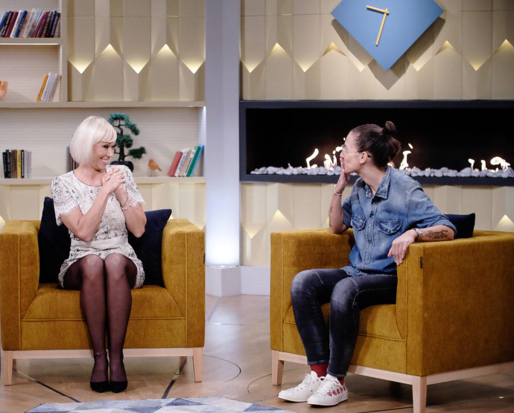 Gallusz Niki és Bártfai Laura a párkapcsolatukról meséltek az Életünk történetében Friderikusz Sándornak