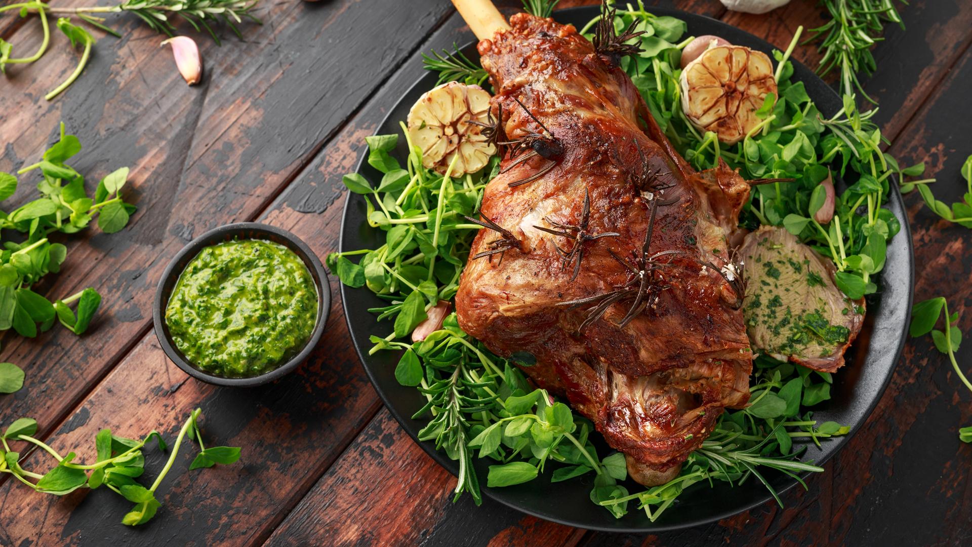 Húsvétkor bárányt és nyulat ebédelünk