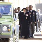 Anna hercegnő Fülöp herceg temetésén