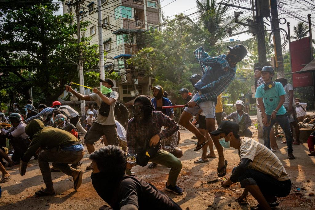 Ártatlan gyerekáldozatok Mianmarban