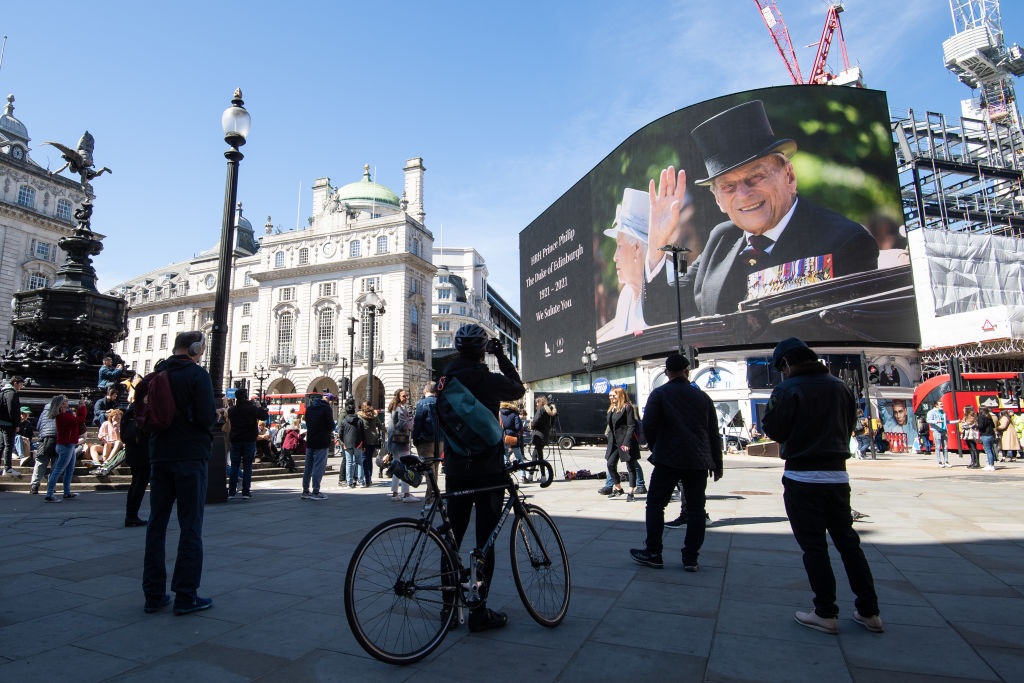 A Piccadilly Circus Londonban