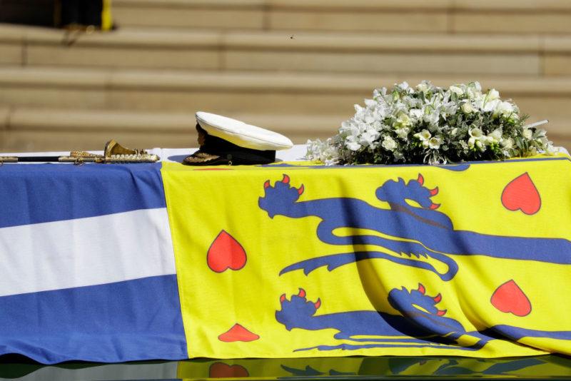 Fülöp herceg temetése