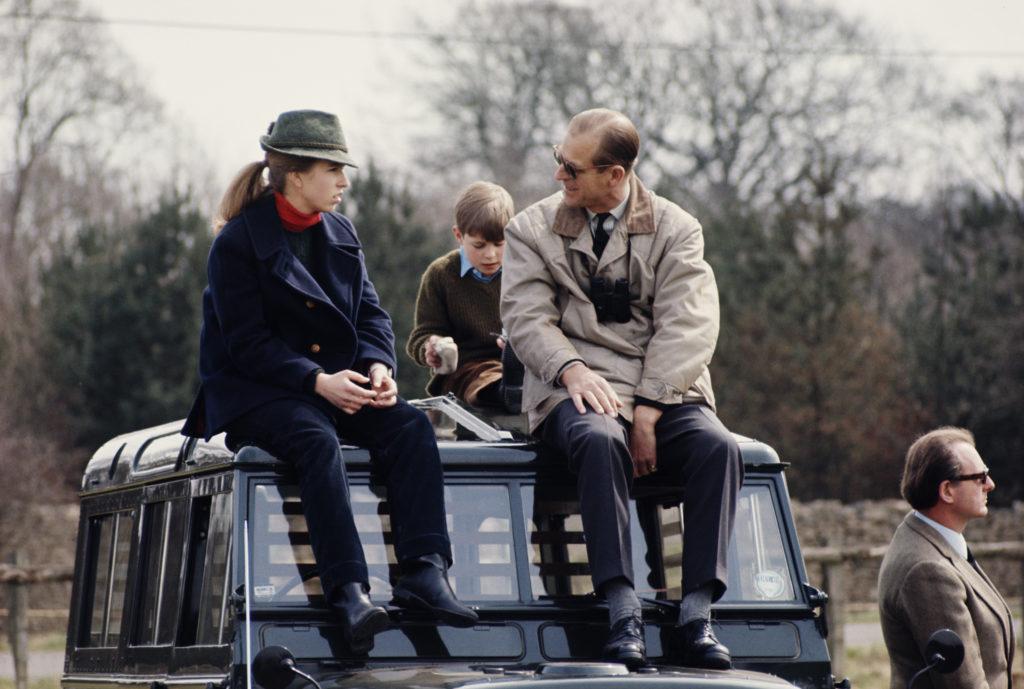 Anna hercegnő és Fülöp herceg a 80-as években