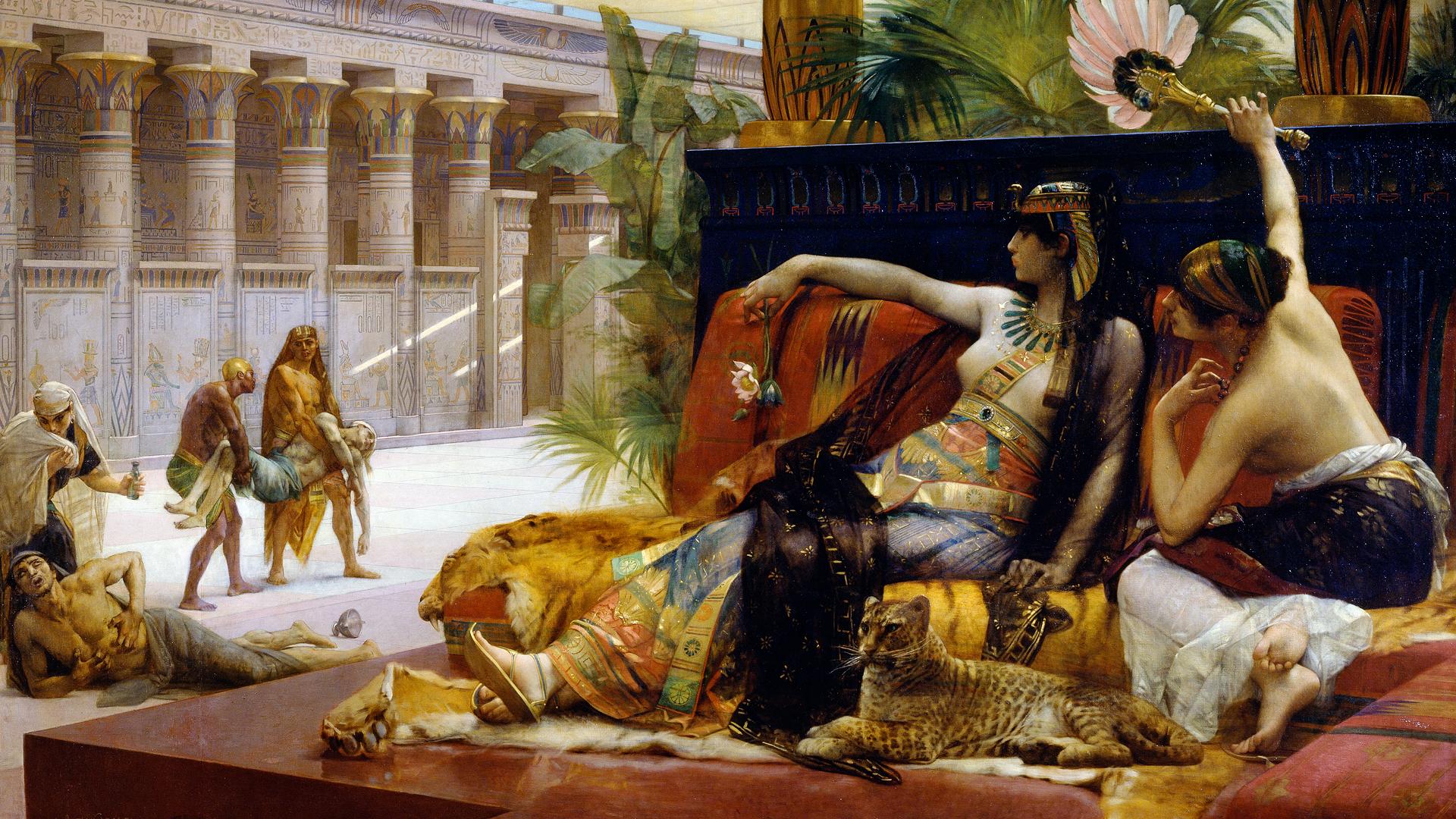 Csillapíthatatlan szexfüggő volt Kleopátra?