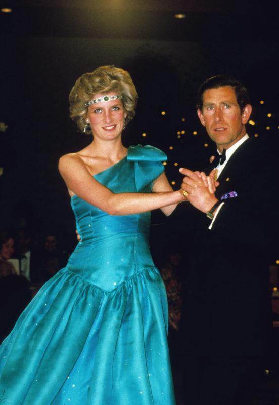 Diana hercegnő és Károly herceg 1985