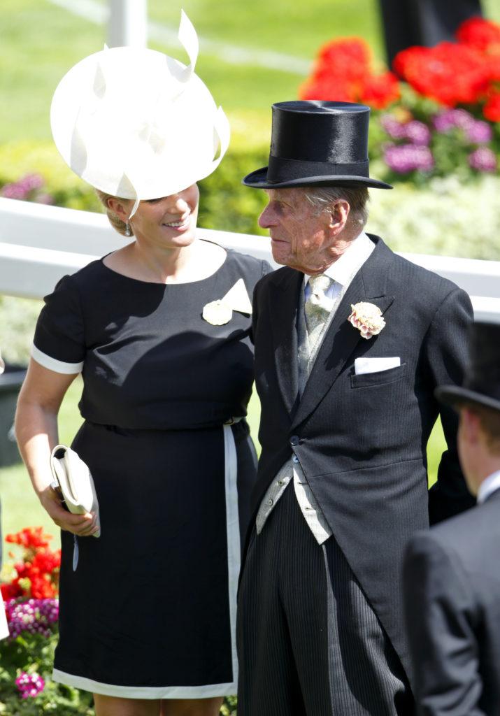 Fülöp herceg és Zara Tindall