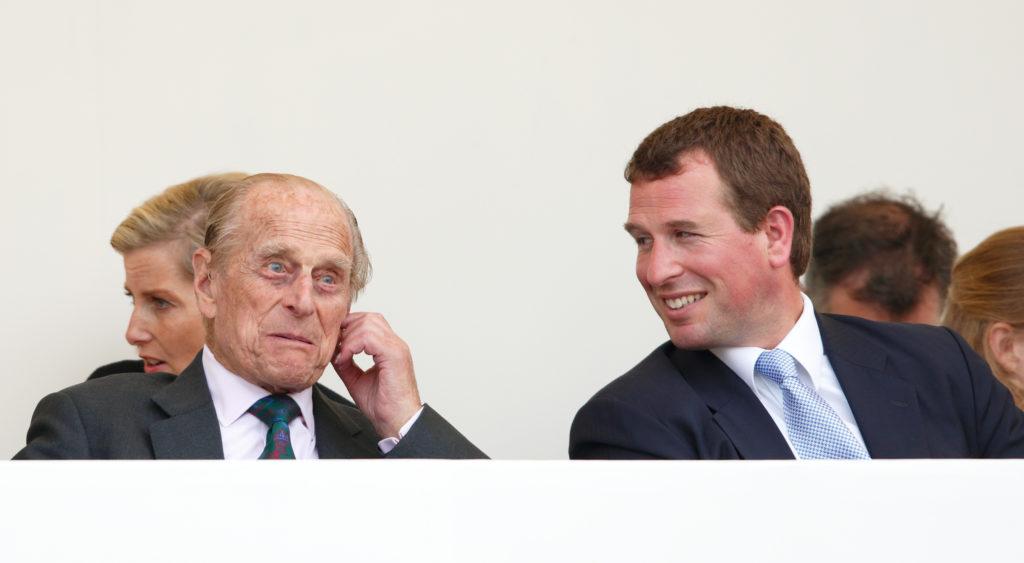 Peter Phillips és Fülöp herceg