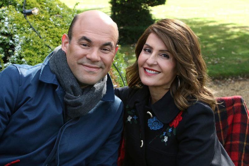 Nia Vardalos és férje, Ian Gomez