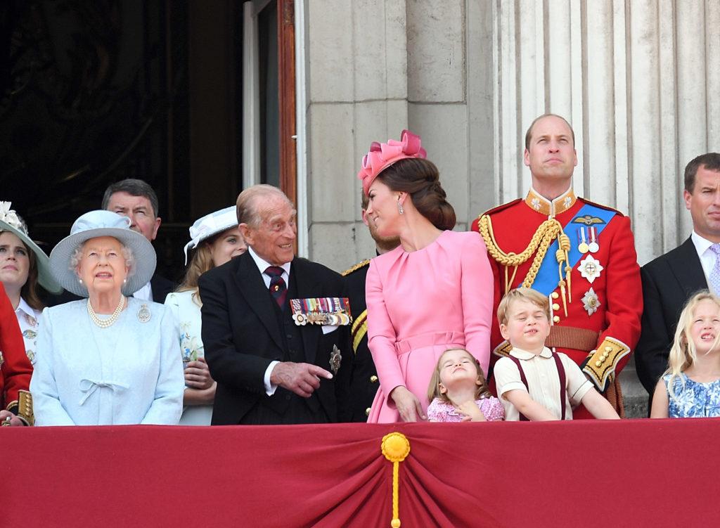 Fülöp herceg, Katalin és Vilmos