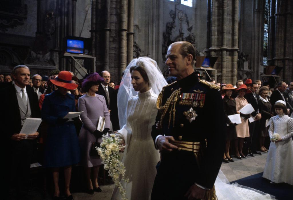 Anna hercegnő első esküvője