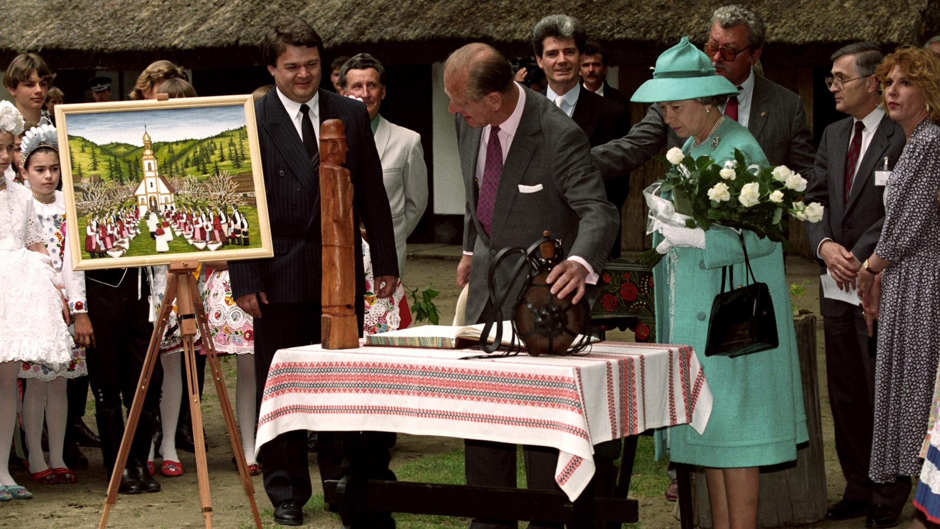 Amikor Fülöp herceget lenyűgözte Bugac