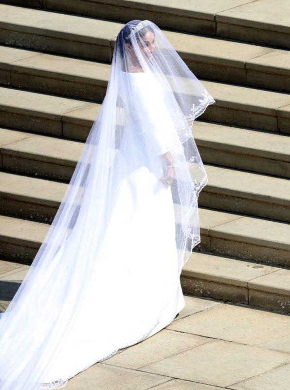 Meghan Markle az esküvője napján