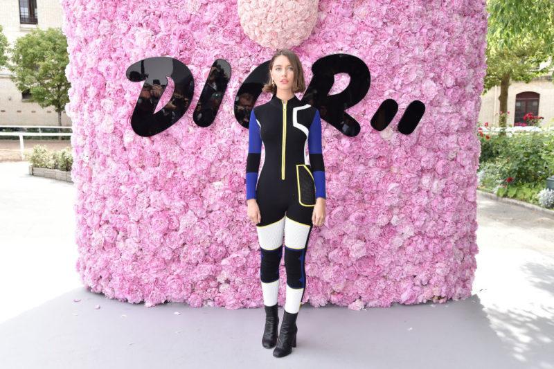 Iris Law a Dior bemutatóján