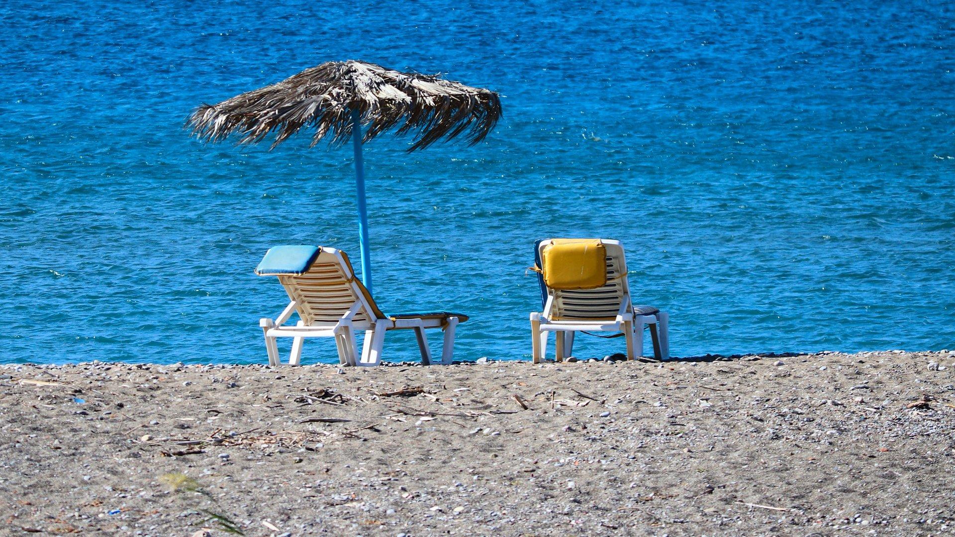 Strand Görögországban