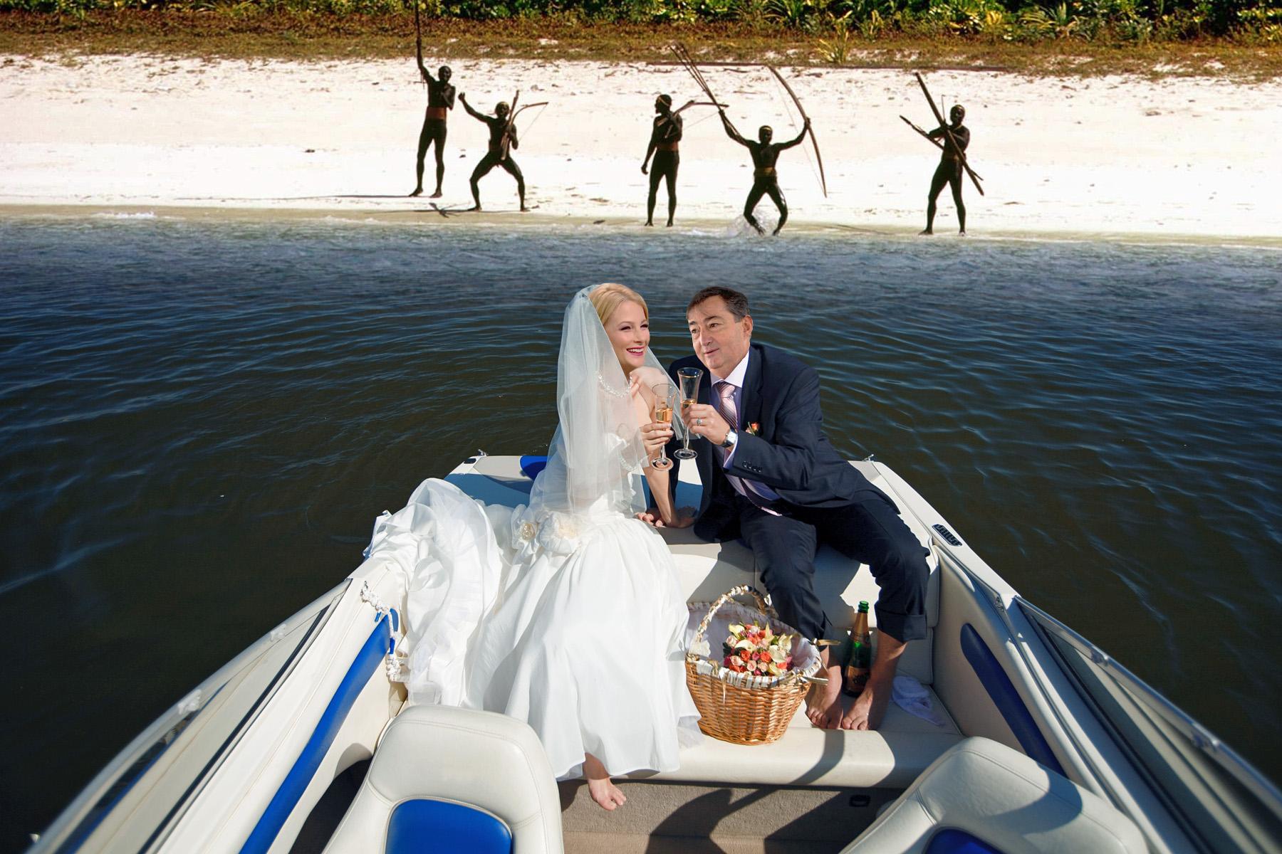 Romantikus hajókázás (Fotó: nlc illusztráció)