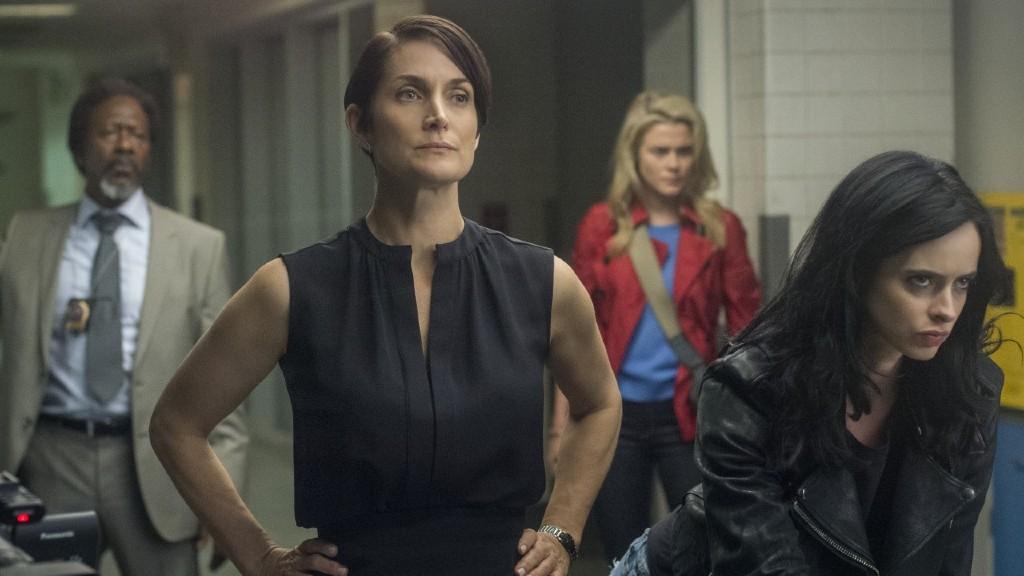 Részlet a Jessica Jones című sorozatból (fotó: Netflix)