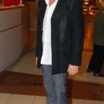 Kaszás Géza egy 2007-es filmbemutatóra érkezett, amikor ez a fotó készült