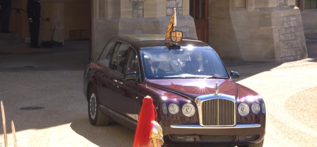 II. Erzsébet Fülöp herceg temetésén