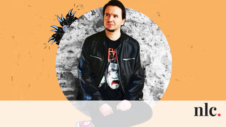 András, a vegán, mulatós horrorpunk, aki verseskötetet ír
