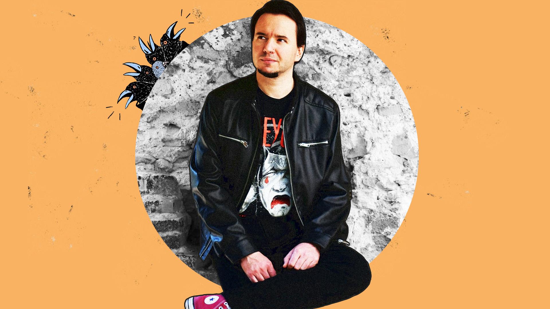 András, a vegán mulatós punk, aki verseket ír