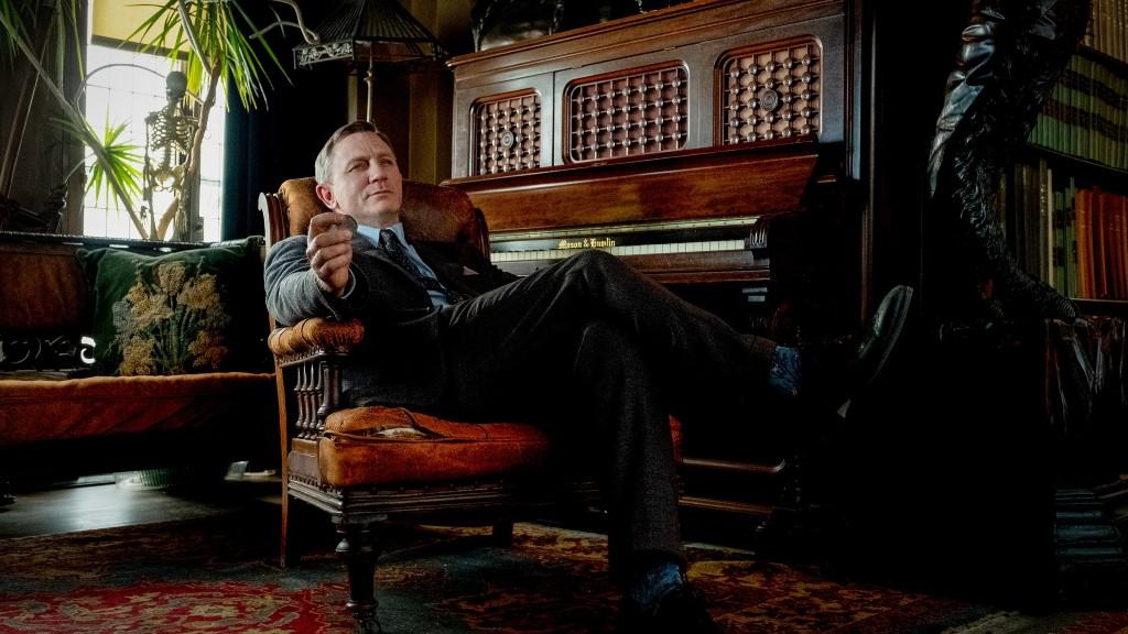 Daniel Craig a Tőrbe ejtve című filmben (fotó: Freeman Film)