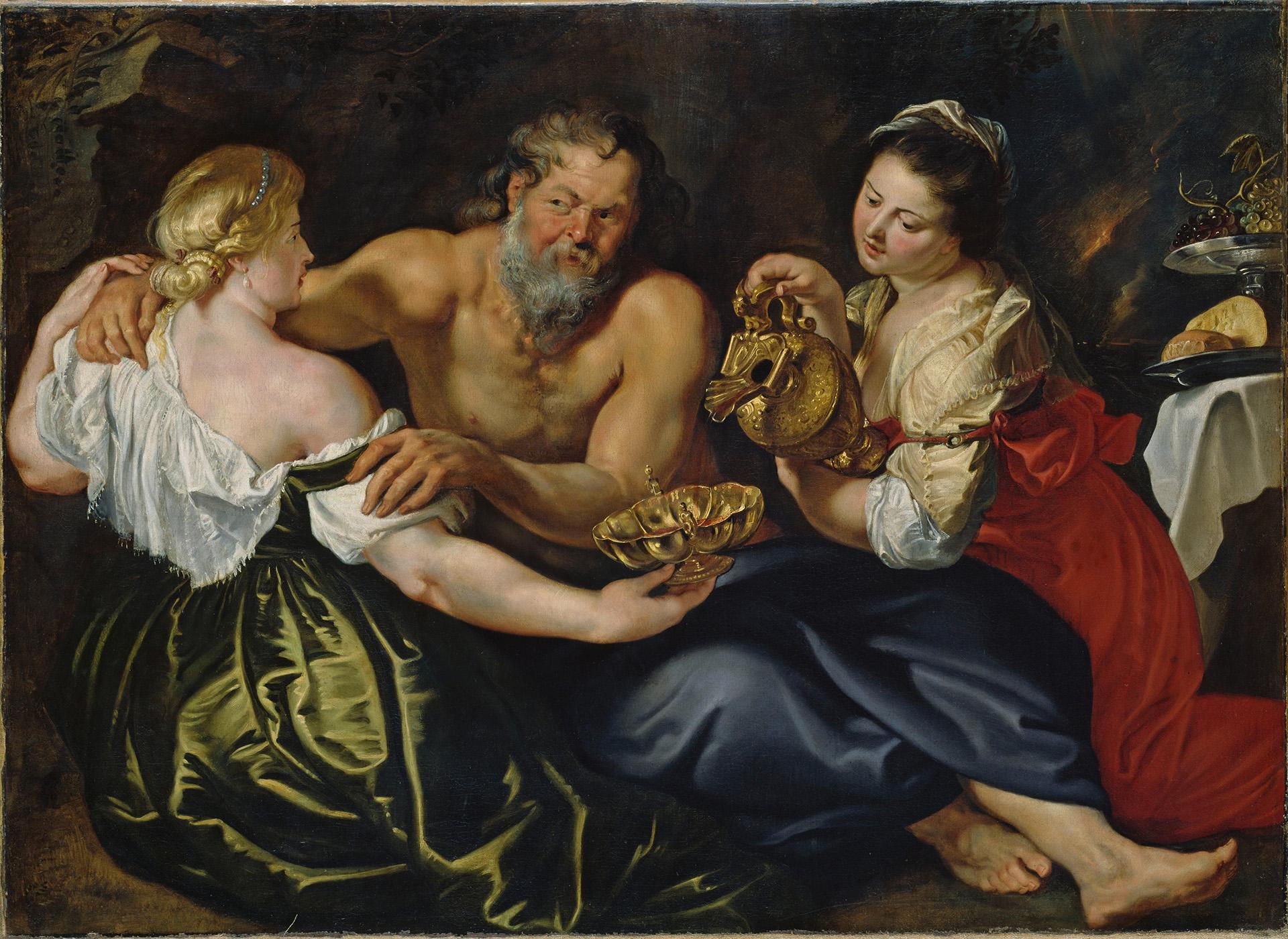 Lót és a lányai