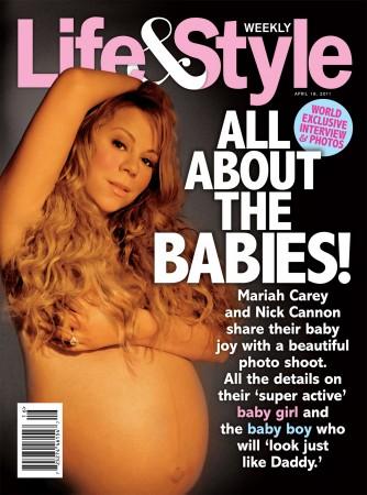 Mariah Carey az ikreivel volt várandós, amikor a meztelen képek készültek róla