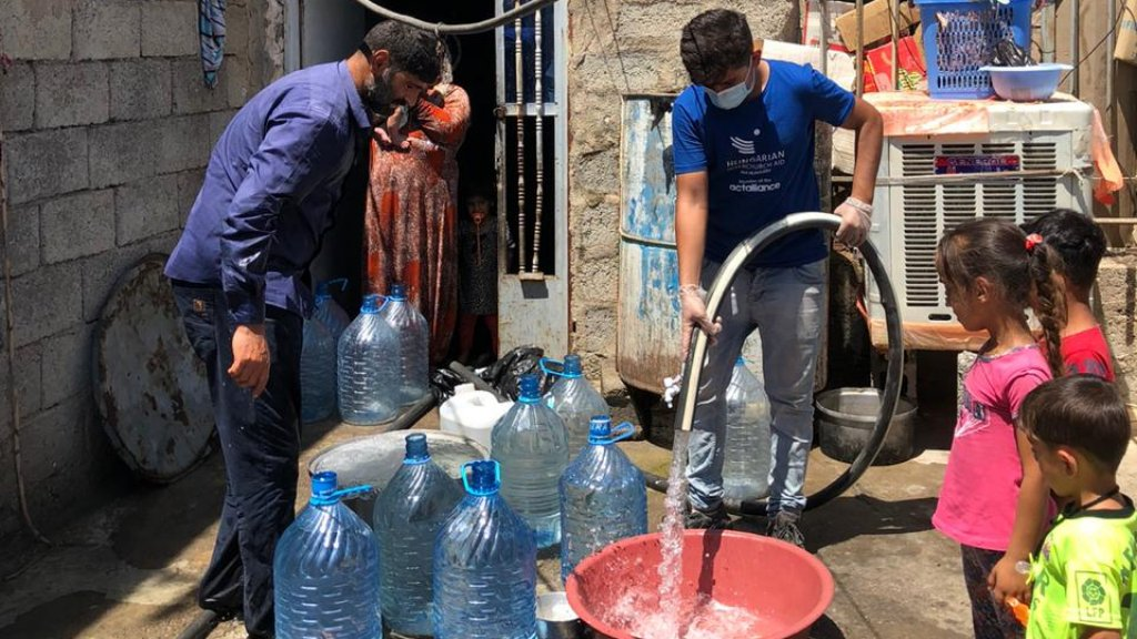 Iraki családoknak indít gyűjtést az Ökumenikus Segélyszervezet