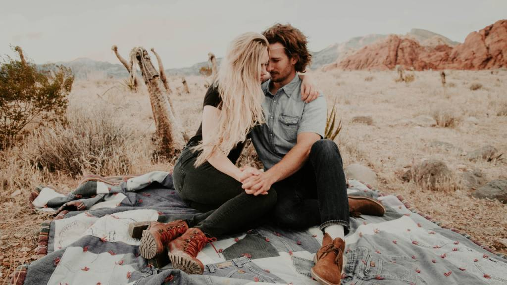 szerelmespár piknik