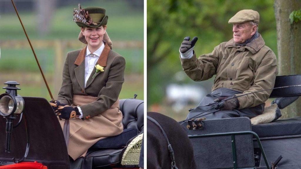 Lady Louise Windsor és Fülöp herceg