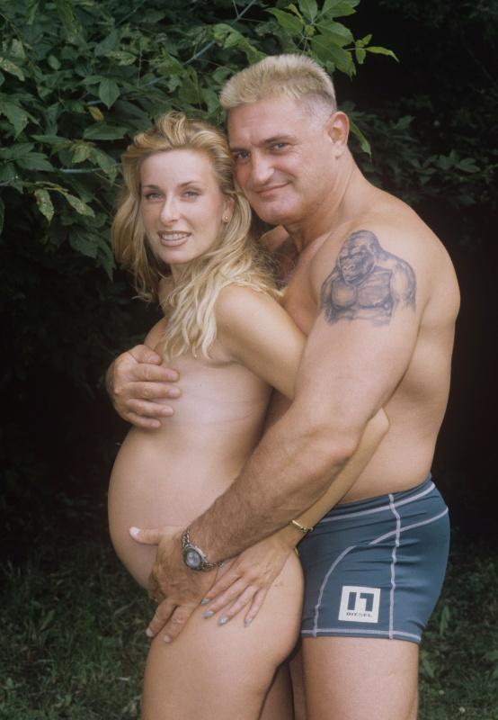 Növényi Norbert és Mariann a Story fotózásán