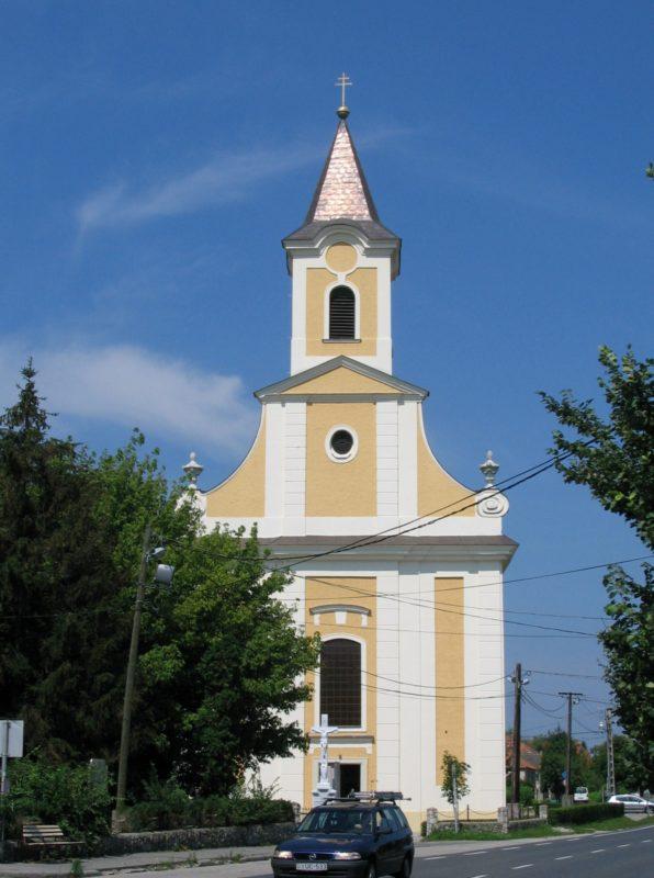A nyúli római katolikus templom