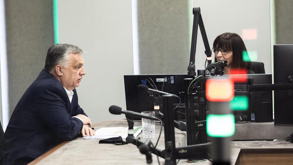 orbán viktor a rádióban