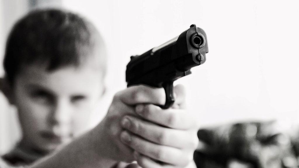 fegyver, gyerek, halál